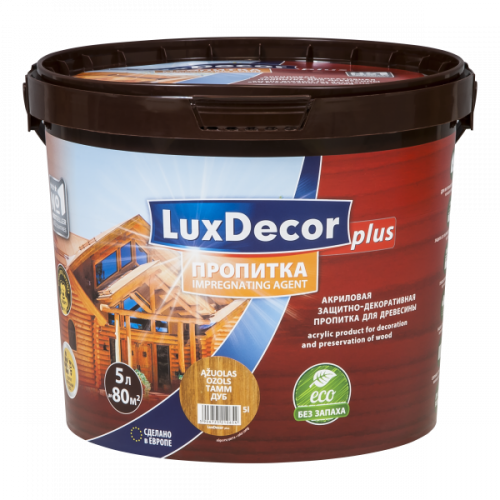 Пропитка Тик 5.0л LuxDecor Plus
